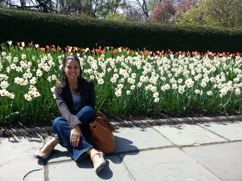 Jesenia De Moya C. in NYC Central Park