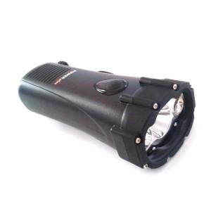 Un minuto de carga proporciona 20 minutos de luz continua de 1W y hasta 8 horas con la carga completa.