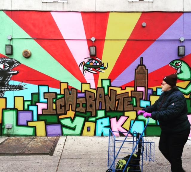Walk and Street Art