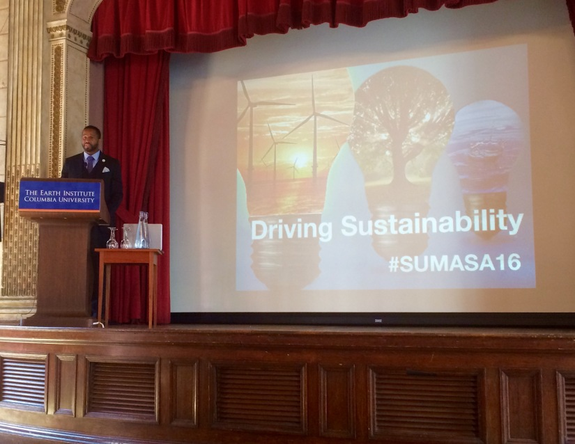 Shaun Hoyte, President of SUMASA, welcome all attendees to the symposium.