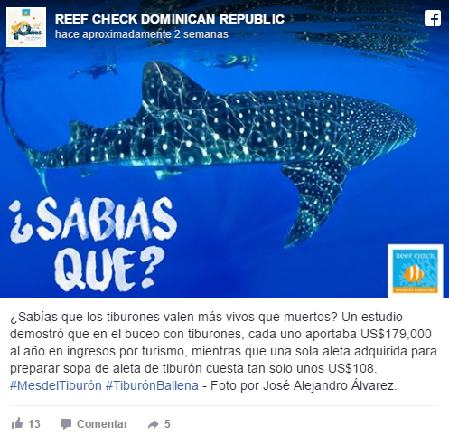 Reef Check en Dominicana