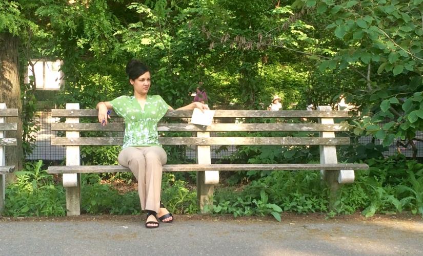 Jesenia De Moya C en Parque de Nueva York