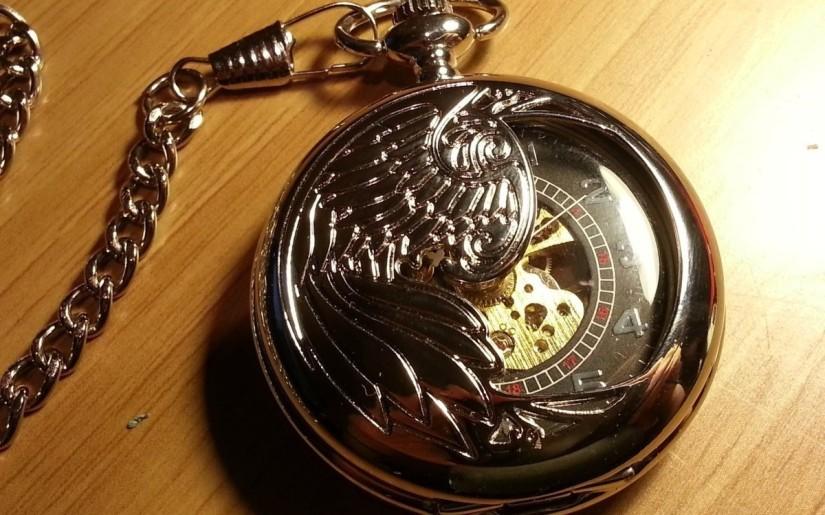 Phoenix pocket watch