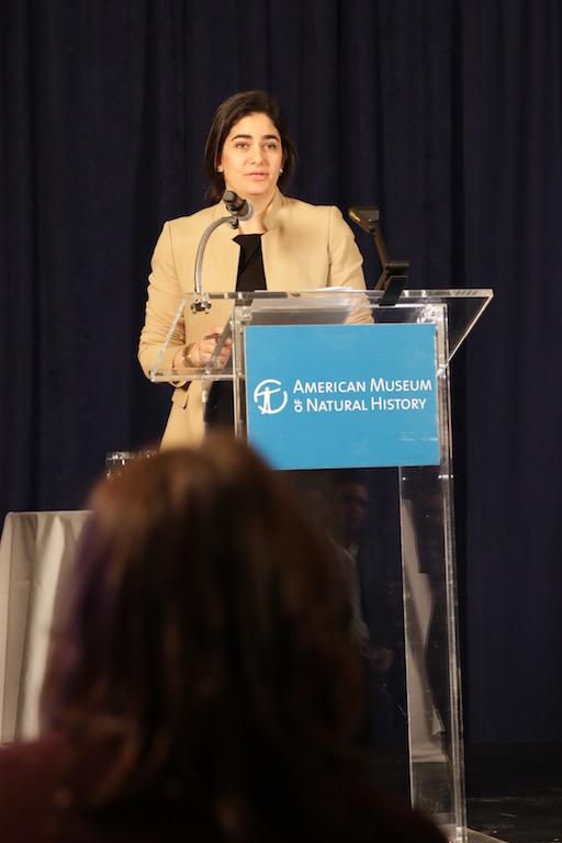 Ana Luz Porzecanski, 43, directora del centro de biodiversidad y conservación del Museo Americano de Historia Natural.