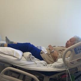 Mamá luchó por dos años y cinco meses contra la recurrencia de un cáncer de útero del que se había librado en 2013, tras una histerectomía y tres sesiones de radiación. 21 de abril de 2016.