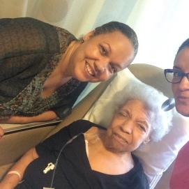 Semana tras semana, asistió a 84 sesiones de quimioterapia durante un año y siete meses corrido. 21 de julio de 2016.